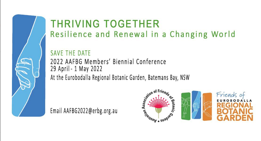Save the Date for our 2022 conference 29 April to 1 May